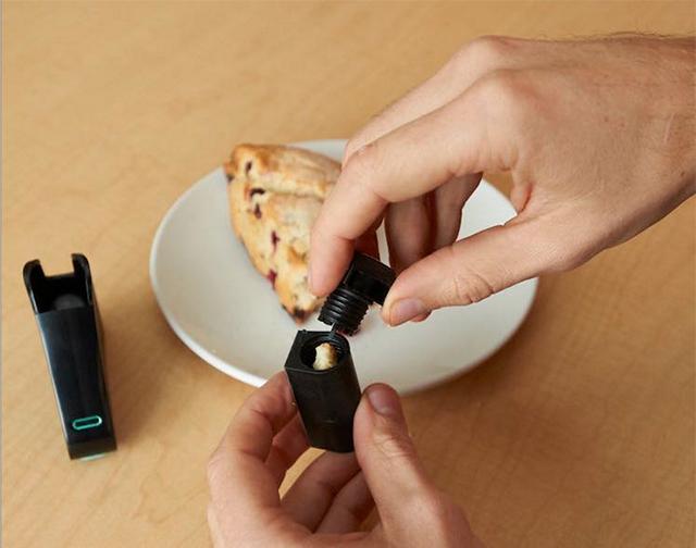 アレルギーや健康、ダイエットを気にする人のためのグルテン含有量を計るガジェットであるnima_1