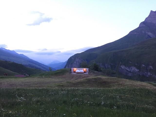屋根も壁もないスイスの山の上のおしゃれで素敵で変わったホテルThe only star is you_5