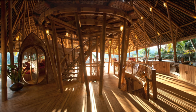 エローラ・ハーディー率いるデザイン集団IBUKUがTEDでプレゼンテーションしたバリ島の竹でできた建築グリーン・ビレッジ_4