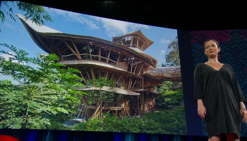 エローラ・ハーディー率いるデザイン集団IBUKUがTEDでプレゼンテーションしたバリ島の竹でできた建築グリーン・ビレッジ_2