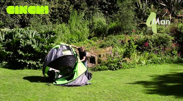 組み立て不要で快適で楽にキャンプが楽しめるポップアップテントCinch!_5