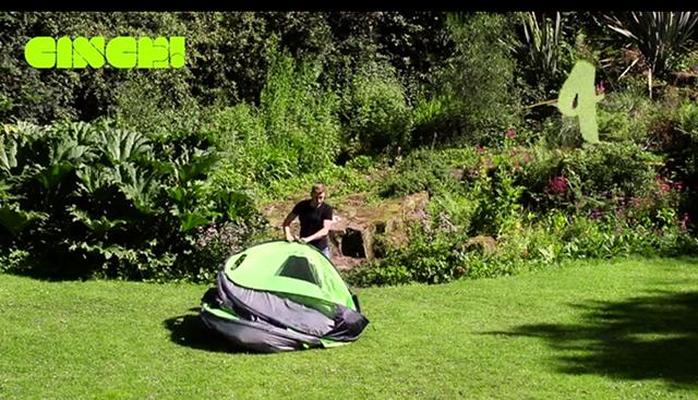 組み立て不要で快適で楽にキャンプが楽しめるポップアップテントCinch!_4