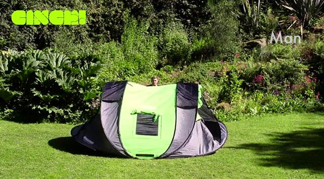 組み立て不要で快適で楽にキャンプが楽しめるポップアップテントCinch!_7