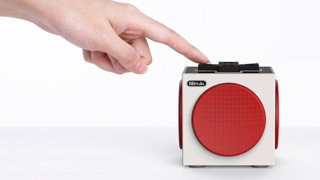 昔懐かしファミコンを思い起こさせるレトロな雰囲気を漂わせるBluetoothスピーカー「8Bitdo Retro Cube Speaker」。ファミコン世代のみなさんならば、絶対に欲しくなってしまう一品。3