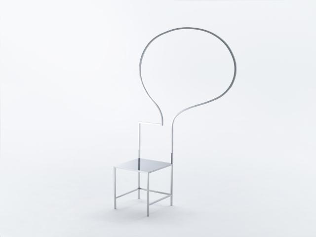 佐藤オオキ率いるデザインオフィス「nendo」が、ニューヨークのフリードマン ベンダ ギャラリーのために制作したマンガがモチーフの50脚のイス「50 manga chairs」をご紹介。マンガでよく見るフキダシがデザインされたイス。