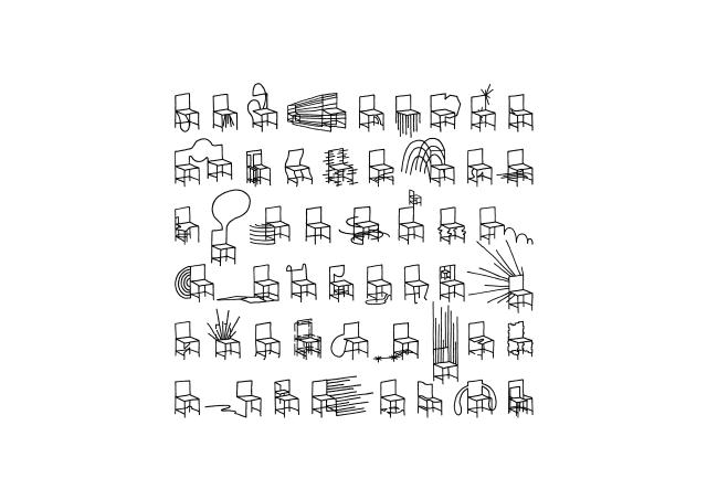 佐藤オオキ率いるデザインオフィス「nendo」が、ニューヨークのフリードマン ベンダ ギャラリーのために制作したマンガがモチーフの50脚のイス「50 manga chairs」をご紹介。50種類全てにマンガ表現が組み込まれているデザイン。