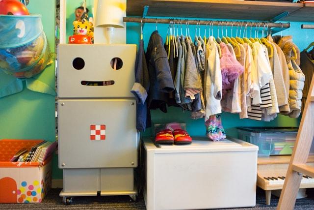おしゃれ部屋_三鷹市_団地_団地リノベ_リノベーション_DIY_DIY家具_ロボット_15