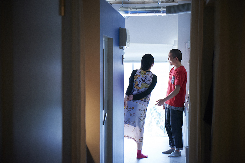 Webデザイナーの夫婦が音楽を楽しむ防音室などを完備した港区麻布十番のレトロマンションをリノベーションしたおしゃれな部屋_26